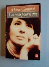 Les Mots pour le Dire  de Marie Cardinal  (Livre de poche  # 4887.. Grasset 1975