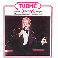 #621 SEALED DCC Audiophile CD MEL TORME Encore at Marty's - Hoffman - crk co
