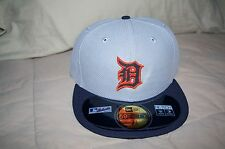 Detroit Tigers New Era 59Fifty Diamond Era Hat Fitted Size 7 3/4 MSRP $34.99
