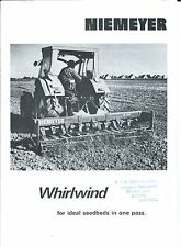Farm Implement Brochure - Niemeyer - Whirlwind Seedbed Preparation Tool (F4651)
