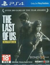 The Last of Us Remastered HK Chinese & English Subtitle English voice PS4 NEW
