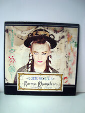 DISQUE VYNILE  45T - CULTURE CLUB KARMA CHAMELEON