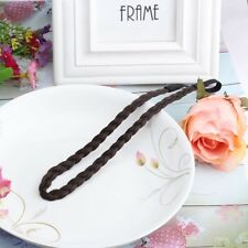 Synthetic Hair Plaited Plait Elastic Headband Braided Hair Band