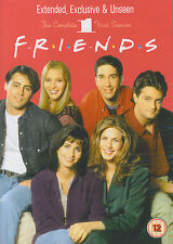 Friends : The complete first season, extended, exclusive & unseen (4 DVD)