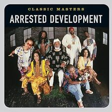 """ARRESTED DEVELOPMENT """"Classic Masters"""" new sealed unopened CD cracks in case"""