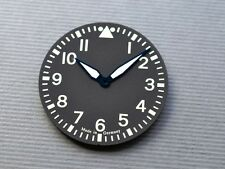 watch dial made for ETA Unitas 6497 movement blue * big pilot aviator navigator