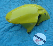 2001 CBR 929 RR front fender yellow DAMAGED bodywork honda 2000 929rr