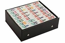 Double 18 Color Number Dominoes Game