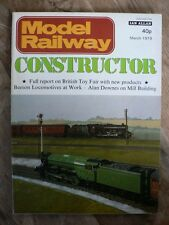 MODEL RAILWAY CONSTRUCTOR March 1979 - Alan Downes on Mill Building