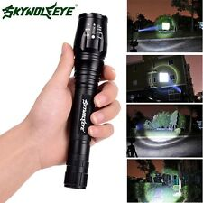 Powerful 5 Modes 8000 Lumen CREE XM-L T6 LED 18650 Lotus Head Torch Flashlight