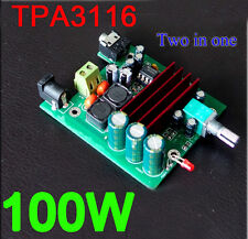 dc 12v-24v TPA3116D2 100W mono digital amplifier board 100W subwoofer Verstärker