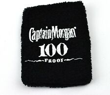 Captain Morgan 100 Proof USA Armband Schweißband schwarz - wristband