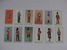 British Soldiers through the Ages set of collectable cards military