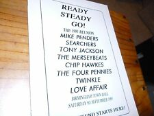 CONCERT PROGRAMME;1995 ;MIKE PENDER'S SEARCHERS ;TONY JACKSON ;TWINKLE;4 PENNIES