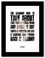 ❤ FOO FIGHTERS My Hero ❤ lyric typography poster art print A1 A2 A3 or A4