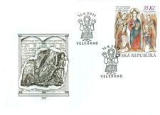 2013 Evangelizzazione di San Cirillo e Metodio - Repubblica Ceca - official FDC
