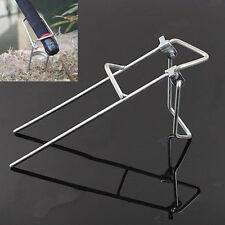 Metal Fishing Rod Pole Support Stand Bracket Holder Rack Adjustable Hot