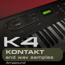 KAWAI K4 for KONTAKT 300+ .nki PATCHES 2456 WAV SAMPLES 24BIT HIGH QUALITY