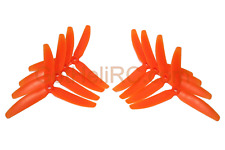 HQProp Tri Blades 5x4x3 ORANGE MultiRotor propeller CW,CCW Mini 250mm Quadcopter