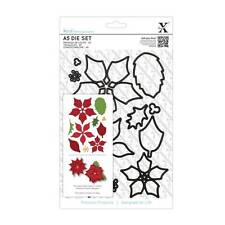 Docrafts Xcut A5 Cutting Dies Set - Christmas Poinsettia Flowers XCU 503911