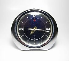 1960's Vintage Mid Century Atomic Space Age Speedometer Mechanical Alarm Clock