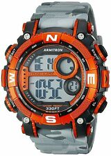 Armitron Men's Grey Camo Resin Watch, 100 Meter WR, Chronograph, 40/8284CGY