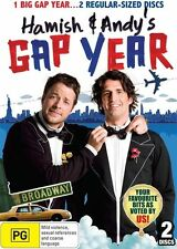"""Hamish & Andy's Gap Year DVD""""New & Sealed""""2 disc set R4"""