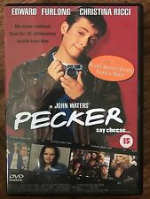 Edward Furlong Christina Ricci PECKER ~ 1998 John Waters Comedy | UK DVD