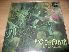 PIG DESTROYER mass volume GREEN LP NASUM CEPHALIC CARNAGE GRIDLINK DILLINGER ESC