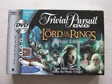 Trivial Pursuit DVD The Lord of The Rings Trilogy Edition Adult Board Game