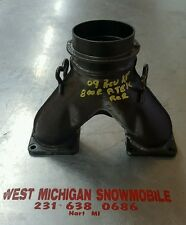 09 Skidoo rev xp 800r p-tek you pipe exhaust manifold 08 10 11 Ski-Doo 700 etec