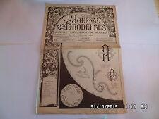 LE JOURNAL DES BRODEUSES JOURNAL PROFESSIONNEL N°746 1ER MAI 1957    I24