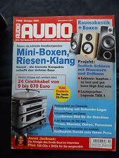 Audio 10/06 canton vento 802, ELAC BS 204.2, Focal Chorus 807 v, ISOPHON Arabba