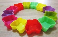 12 x Silikon Muffinformen Schmetterlinge Muffinform Cupcake Backform 12er Set