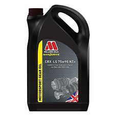 Millers Oils 5 Litre Of CRX LS 75W90 NT Plus Fully Synthetic Gear / Diff Oil LSD