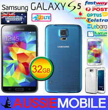 NEW SAMSUNG 100%GENUINE GALAXY S5 4G LTE 32GB BLUE UNLOCKED FREE GIFT NO BOX