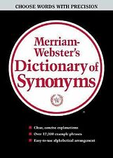Merriam-Webster Dictionary of Synonyms Merriam-Webster Hardcover