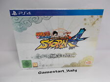 NARUTO SHIPPUDEN ULTIMATE NINJA 4 COLLECTOR'S EDITION + DLC PS4 NEW PAL VERSION