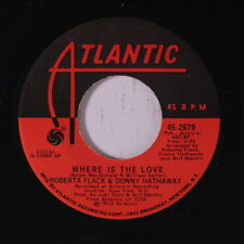 ROBERTA FLACK & DONNY HATHAWAY: Where Is The Love 45 Soul