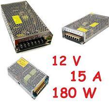 Alimentatore switching stabilizzato 12 V 180W USO PROFESSIONALE 15 A con TRIMMER