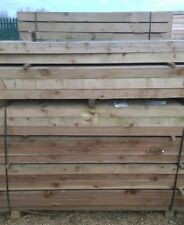 FENCE POSTS FOR POST AND RAIL FENCING 1.8m X 75mm x125mm - PRESSURE TREATED
