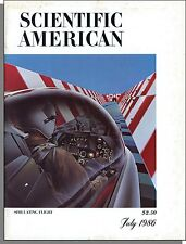 Scientific American - 1986, July - Flight Simulation, Mountain Ranges, New Crops