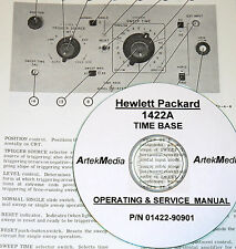 HP 1422A Time Base Operating & Service Manual ( excellent schematics)