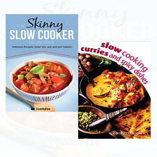 Slow Cooking Curries and Spicy Dishes 2 Books Collection Set Skinny Slow Cooker