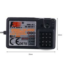 The Standard FS-GR3E 2.4Ghz 3-Channel Receiver for Rc Car Auto Boat New T71