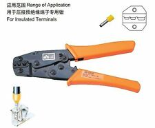 Insulated Terminals Crimping Tools Ratchet Plier Crimper 6-16mm2 AWG10-6