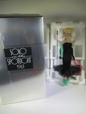 NIB BARBIE DOLL 1989 PORCELAIN SOLO IN THE SPOTLIGHT 1961 REPRODUCTION