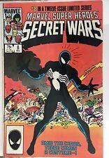 Marvel Super Heroes Secret Wars #8 1st Spider-man Black Costume F (6.0) 1984