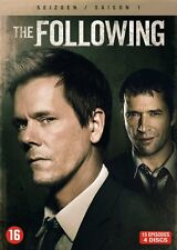 DVD - THE FOLLOWING  SEIZOEN 1  (KEVIN BACON)  (NEW SEALED)
