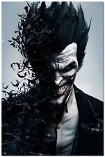 Batman Arkham Origins Silk Wall Poster Joker Gone Bats Video Game 24x36inch